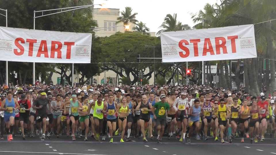 Great Aloha Run 2016