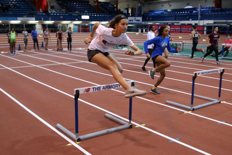 Armory Youth Middle School Invitational Meet 2 NYRR 2017