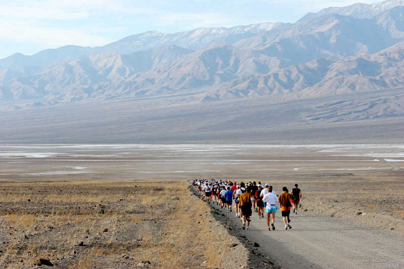 Death Valley Marathon 2019