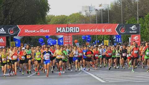 Rock 'n' Roll Madrid Marathon 2013