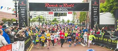 Rock 'n' Roll Liverpool Marathon 2014