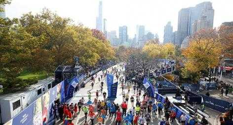 New York City Marathon 2003