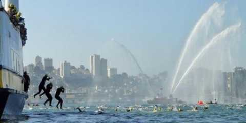 Alcatraz Invitational Swim 2017