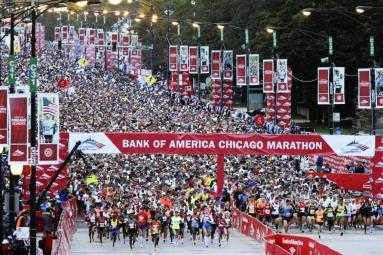 Chicago Marathon 2001