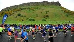 The Edinburgh Marathon 2015