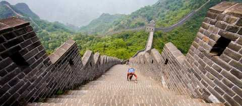 The Great Wall of China Marathon 2011